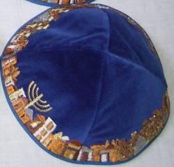 Kipá Luxo Jerusalém - K12