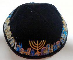 Kipá Luxo Jerusalém K153