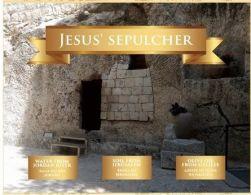 Kit 3 Elementos Terra Santa - Sepulcro de Jesus
