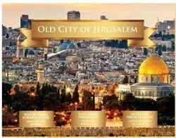 Kit 3 Elementos Terra Santa - Cidade Velha de Jerusalém
