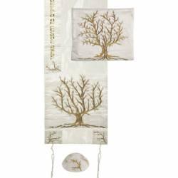 Talit Árvore da Vida - Dourado