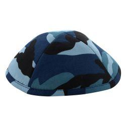 Kipá Camuflado Azul - K170