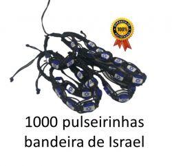 1000 Pulseirinhas Bandeira de Israel