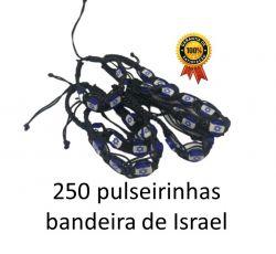 250 Pulseirinhas Bandeira de Israel