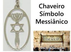 Chaveiro Símbolo Messiânico