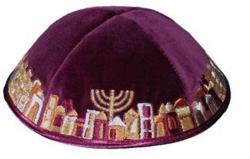 Kipá Luxo Jerusalém K84