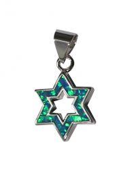 Pingente Estrela de Davi Vazada 2